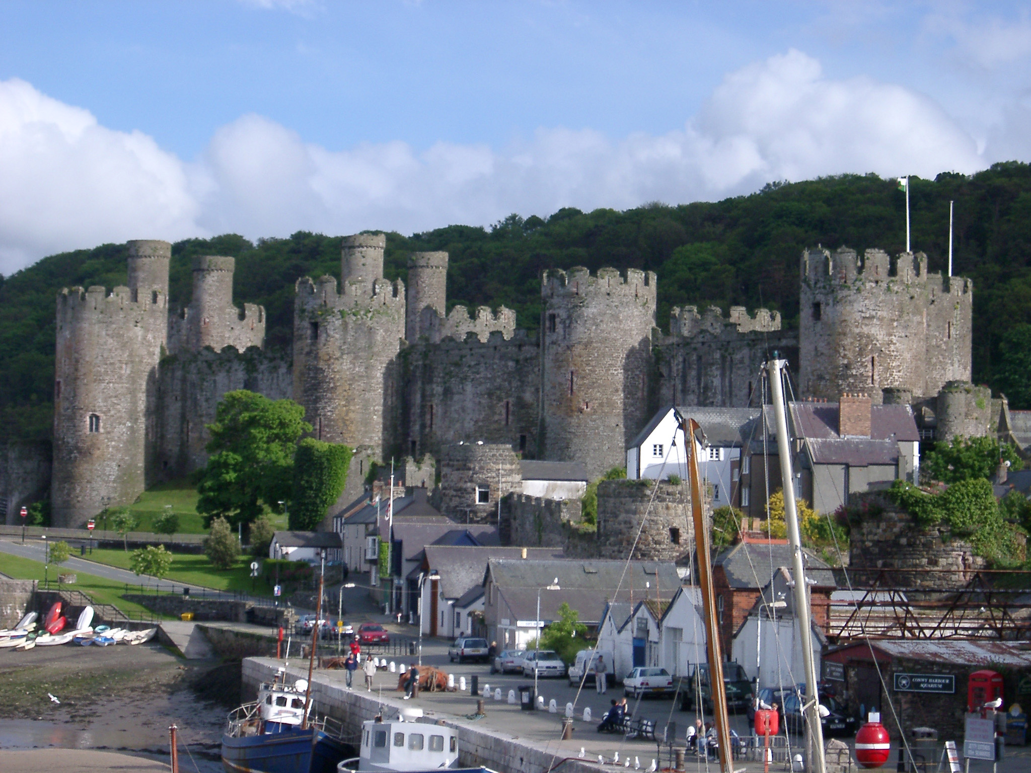 Conway Castle And Docks Im Creator