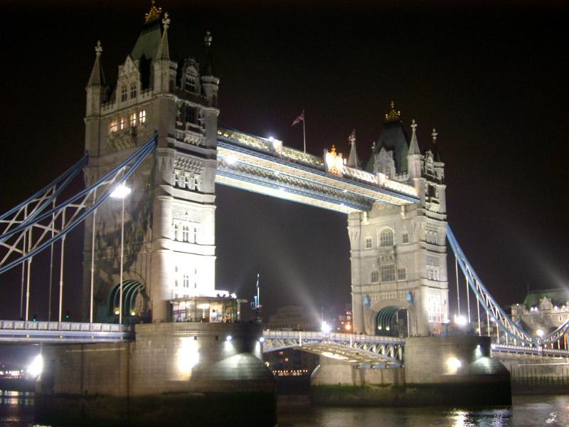bridge gb night london - photo #10
