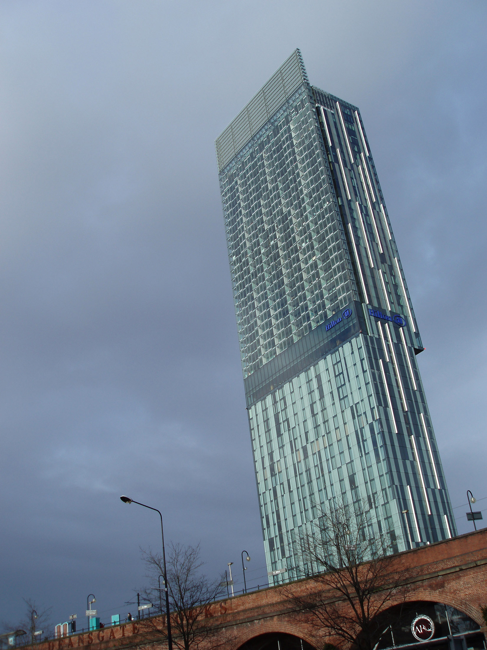 Beetham Tower, Manchester: Europe's Tallest Eyesore