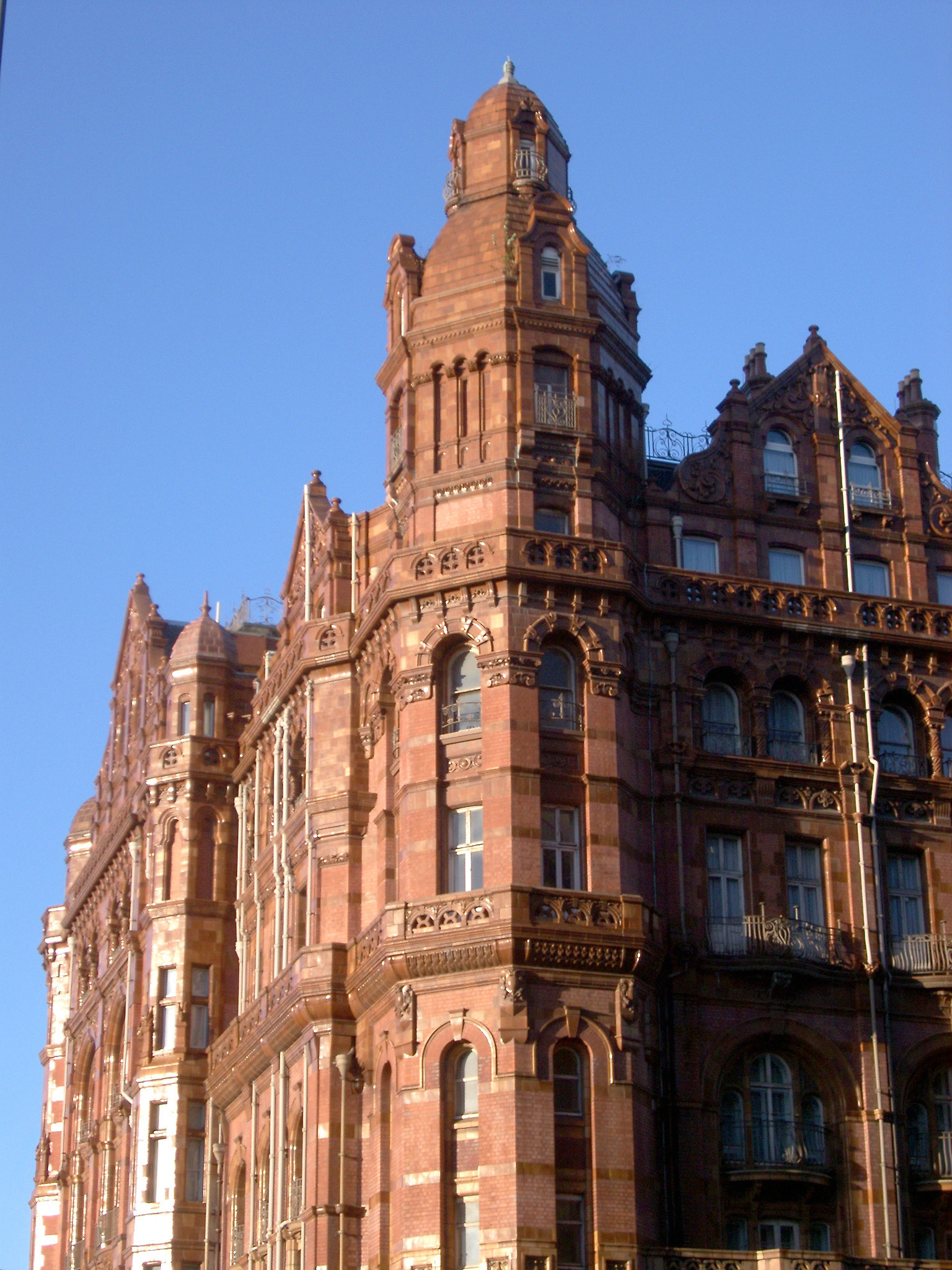 free stock photo of close up of midland hotel in
