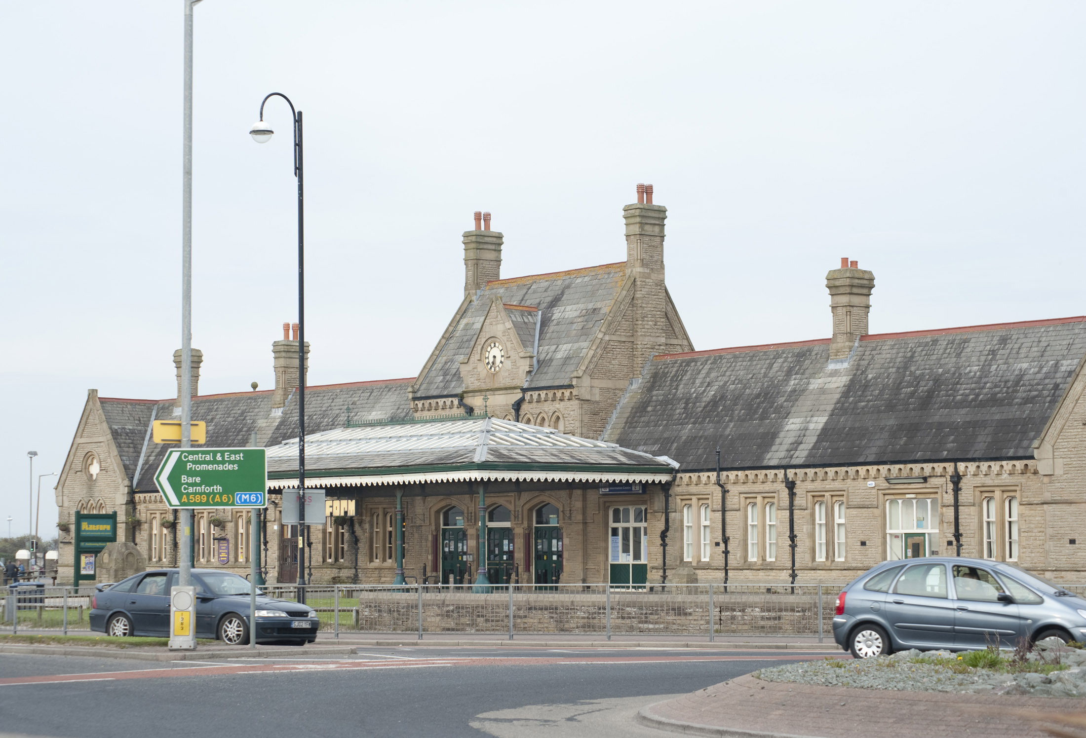 old morecambe station