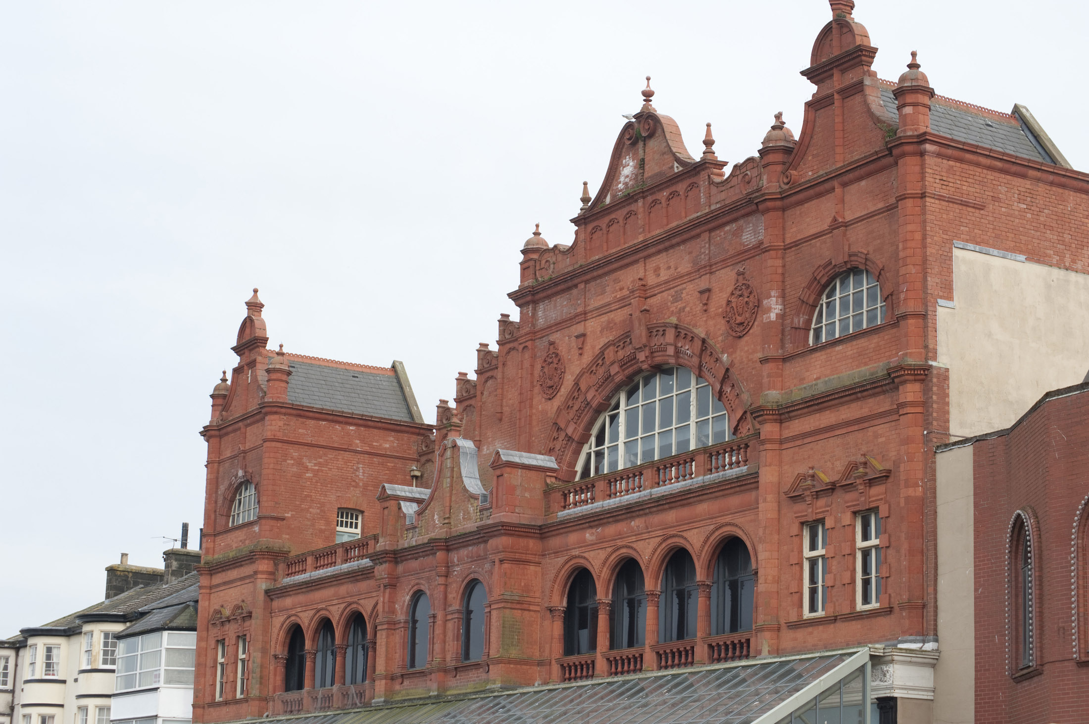 the front of the grade II listed morecambe winter gardens theatre