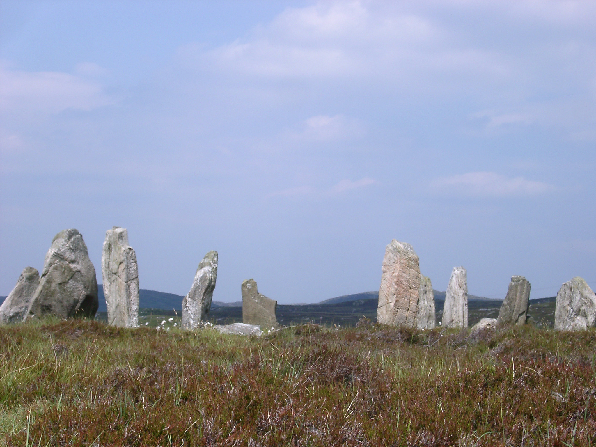 Prehistoric Callanish Monolith Standing Stones, Lewis, Outer Hebrides, Scotland