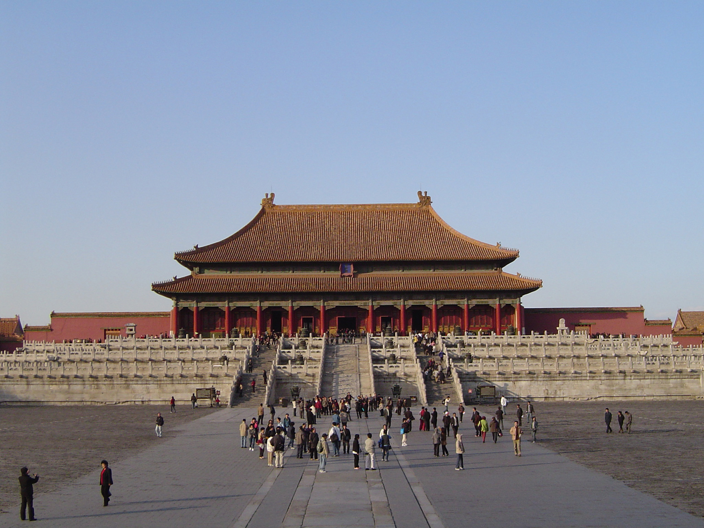 Forbidden City Temple Building- An Attraction in Beijing China