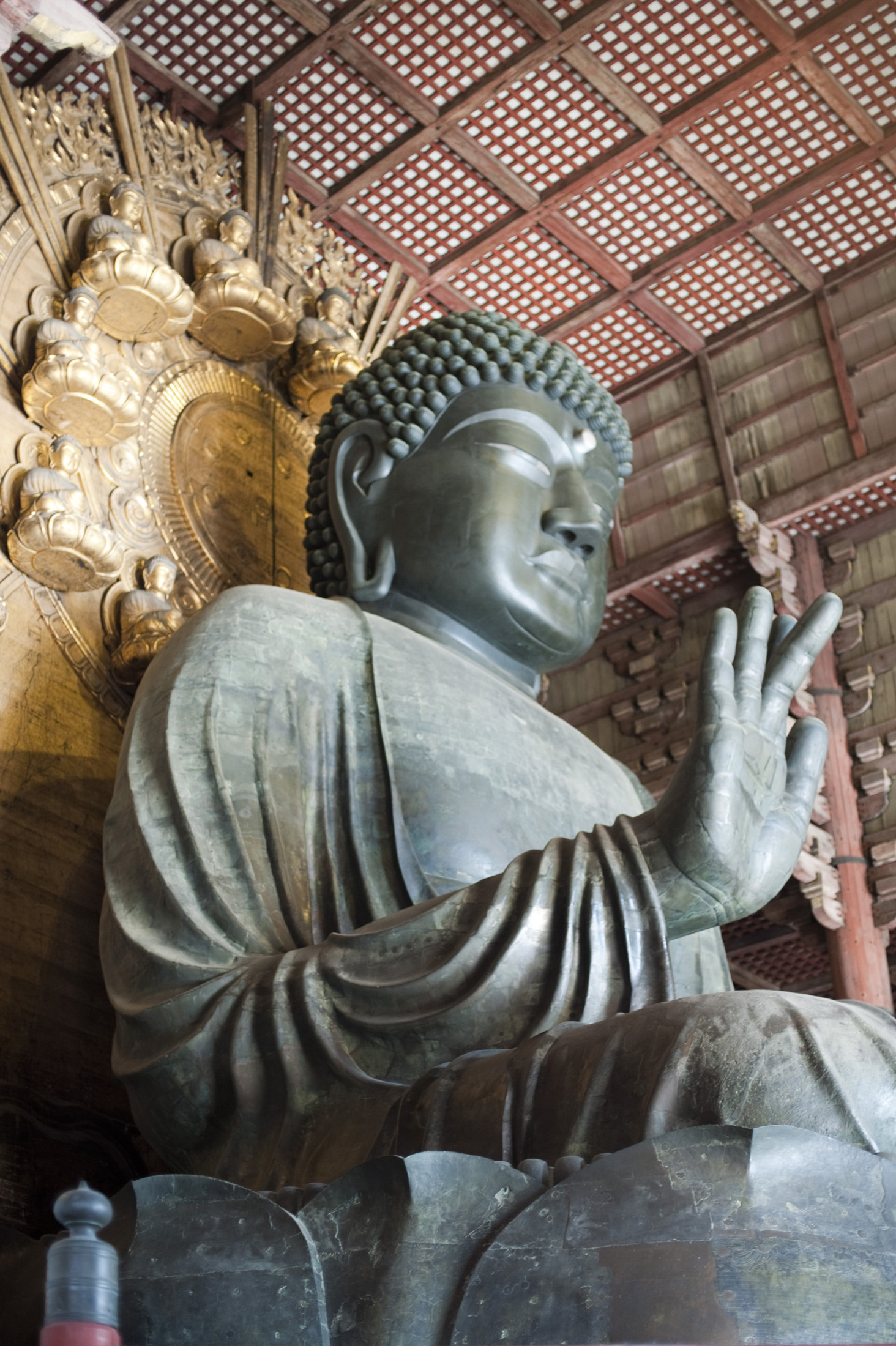 The Big Buddha of Todai-ji, Nara, Japan