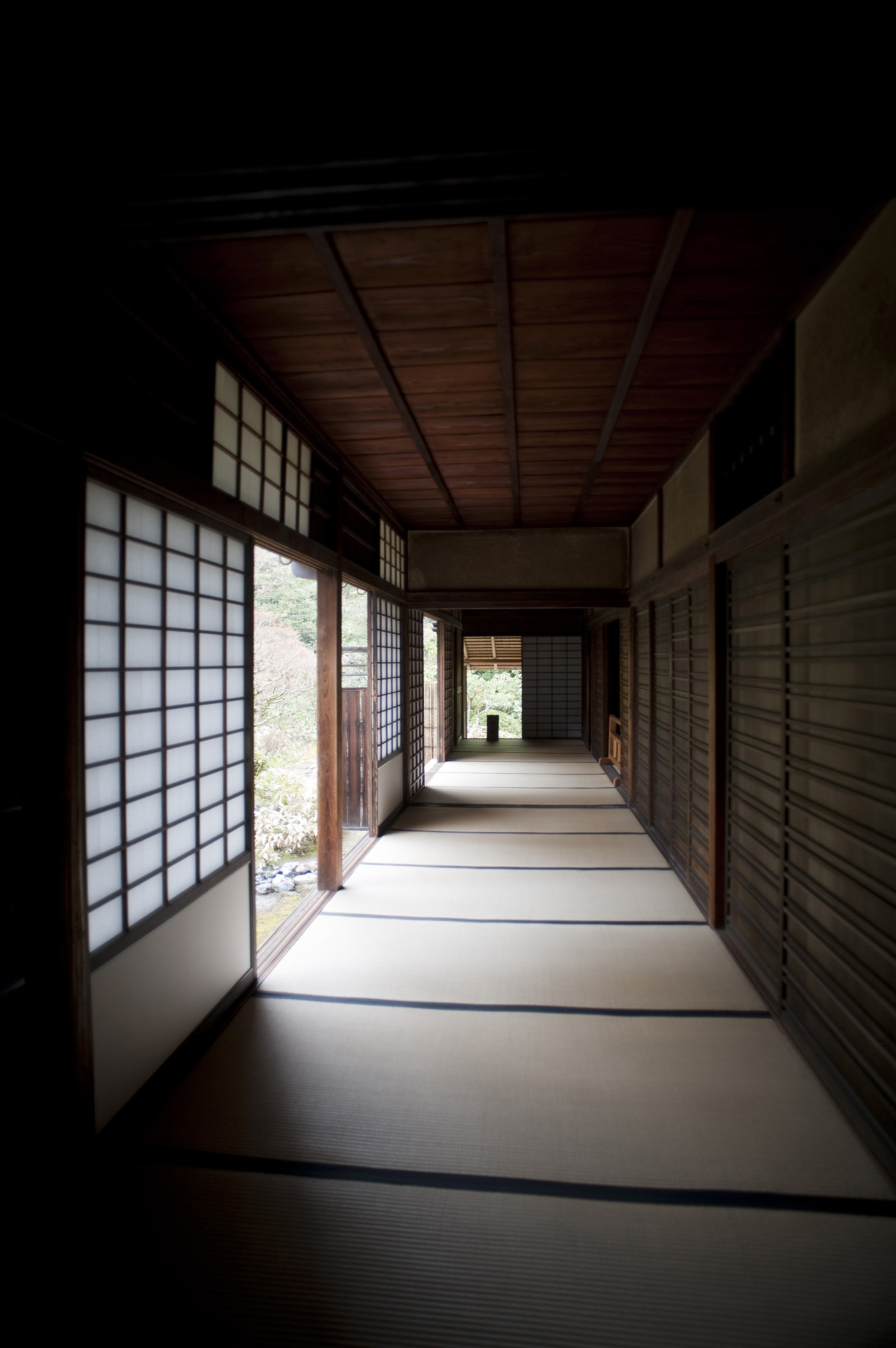 Interior of the Koto-in sub temple of Daitoku-ji in Kyoto, Japan