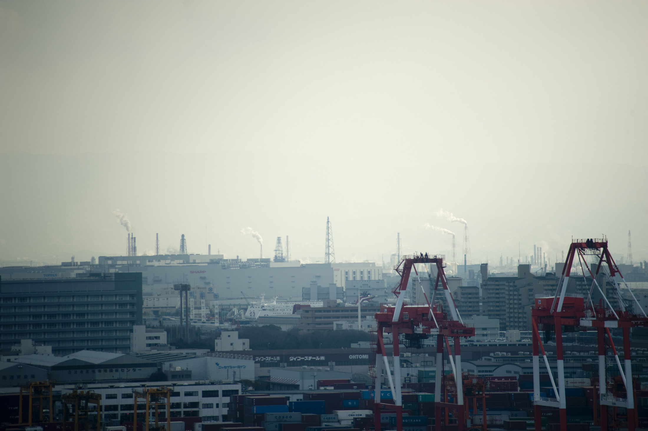 Osaka is Japans industrial and commercial heartland