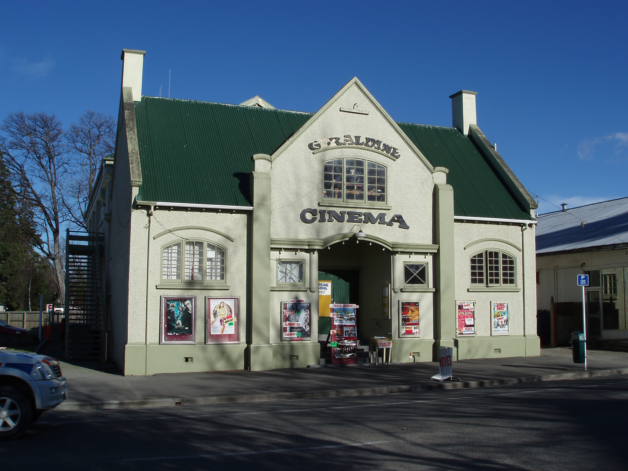 Geraldine New Zealand  city photos gallery : Free Stock photo of geraldine cinema | Photoeverywhere