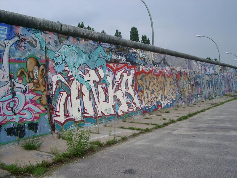 berlin wall, anglais facile