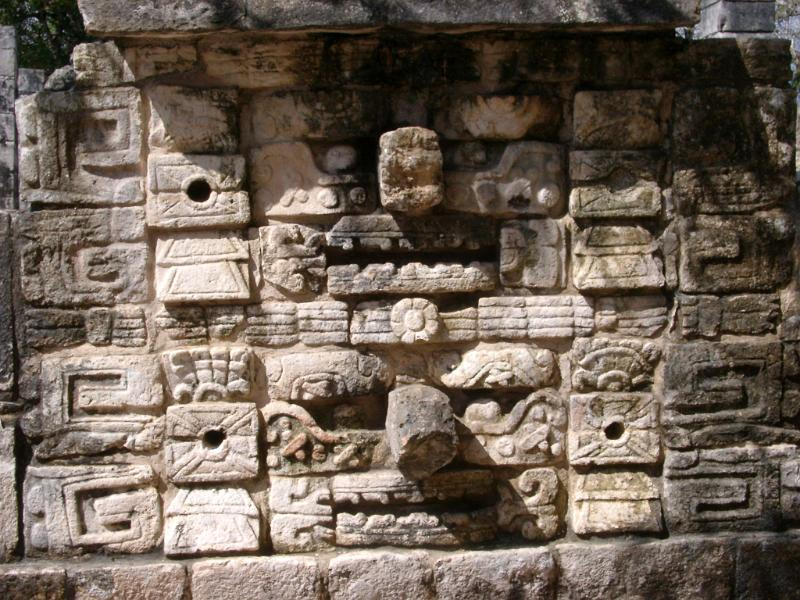 Free stock photo of stone carvings on a ruined building