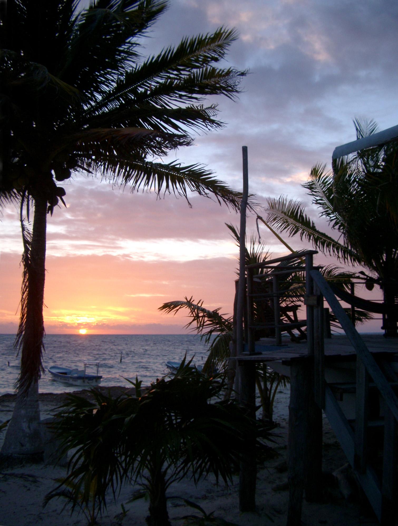 Burning Palm Beach