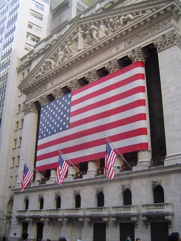 stock exchange wall street. Photo: wall street
