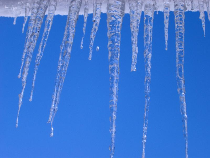 Free Stock Photo Of Row Of Long Icicles Photoeverywhere
