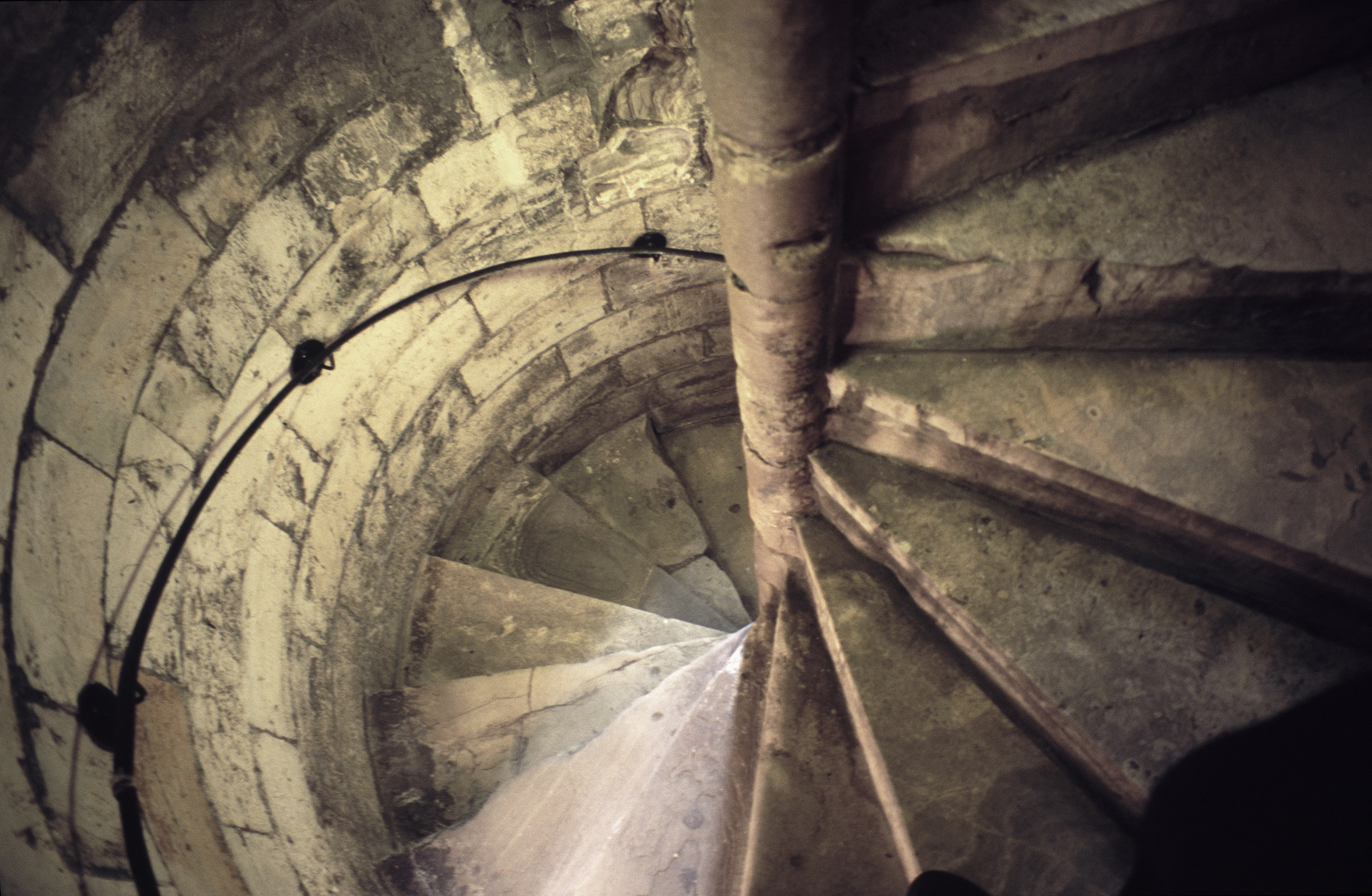 Circular Tower Staircase : Free stock photo of flight spiral stone stairs
