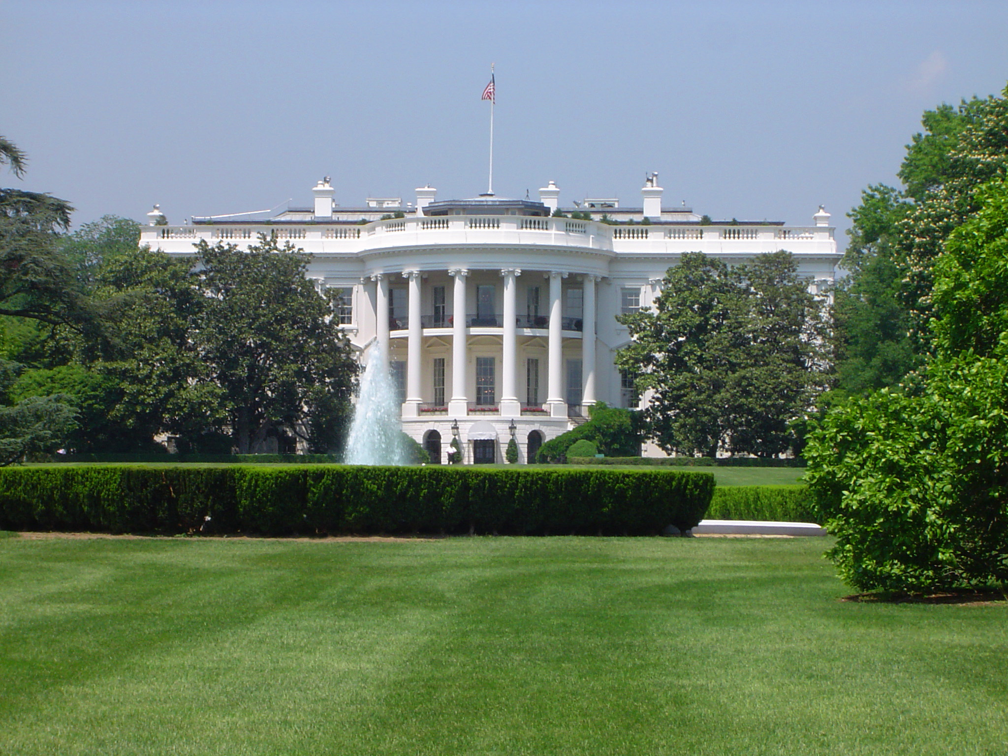 Free stock photo of scenic view of the white house for Buying a home in washington dc